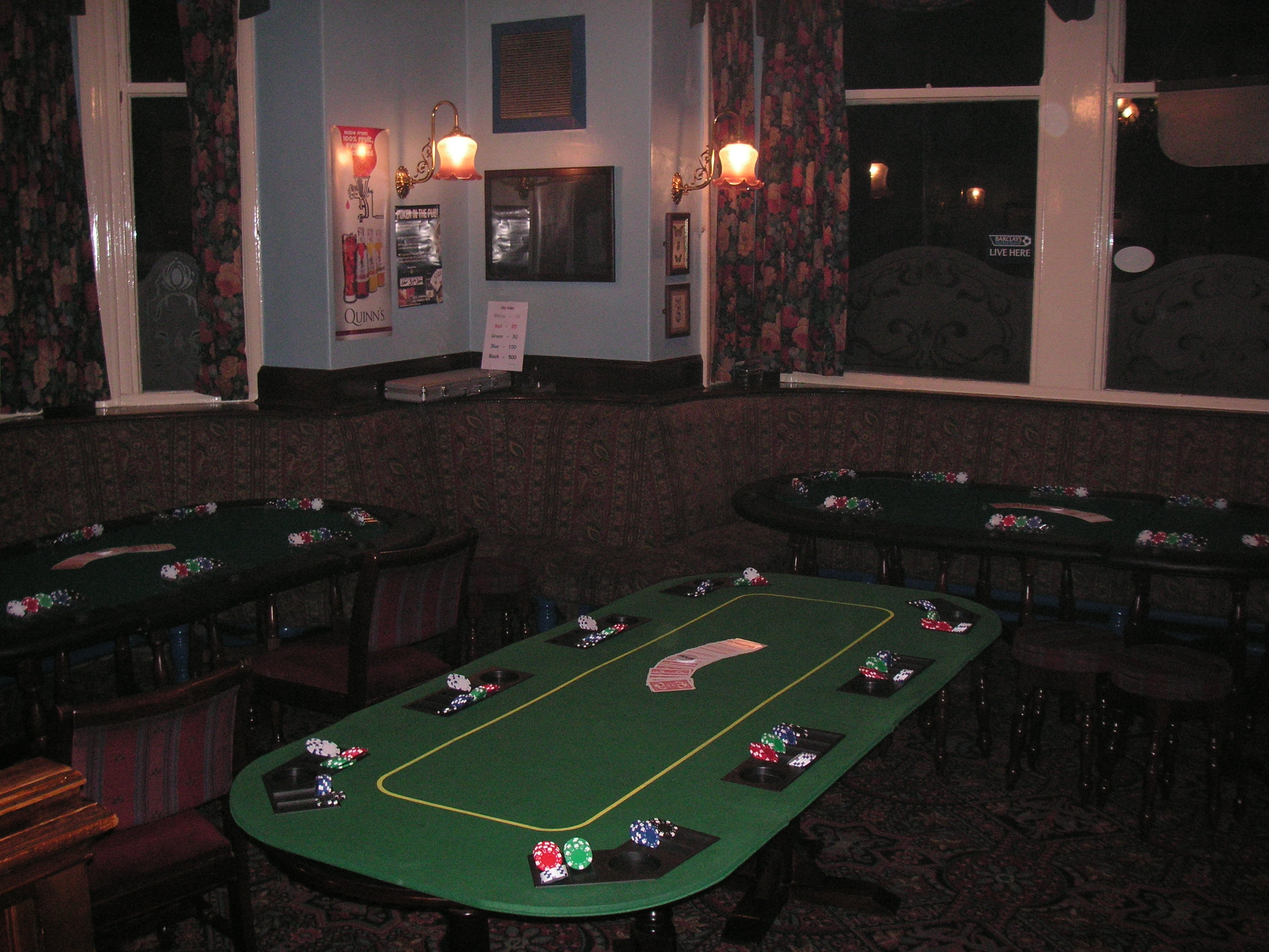 Poker In the Pub - 01524 733540
